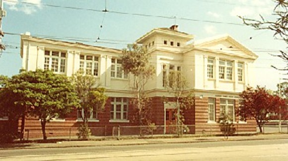 The original building of Mount Alexander Secondary College that was demolished. Source: Victorian Heritage Database