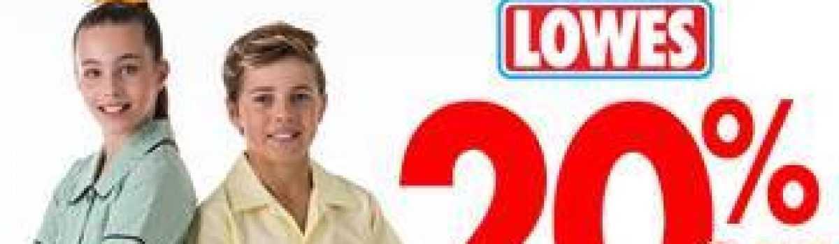 Lowes Uniform Sale