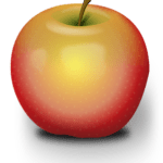An image of a ripe looking apple